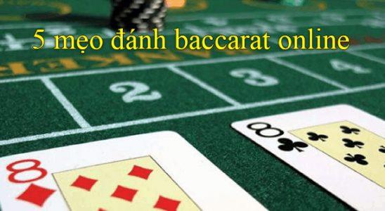đánh baccarat online